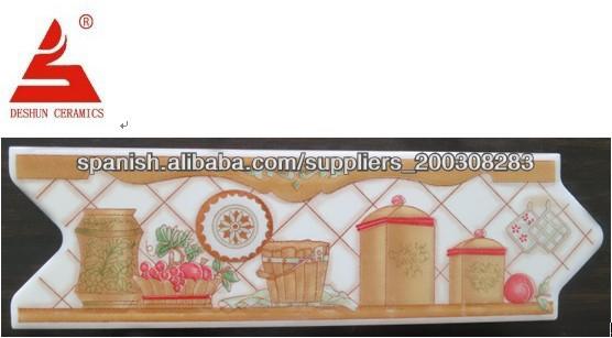 Cenefas de cerámica para la cocina fruta alicatados identificación ...