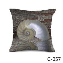 Superb Nautilus Shell Throw or Bed Cushion