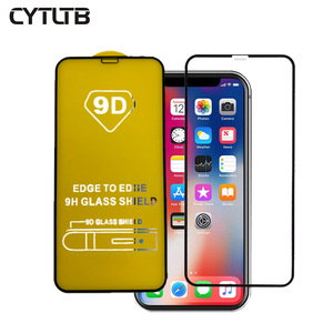 For Iphone X XR XS MAX Screen Protector Tempered Glass 5D 9D Curved Screen Protector For Iphone X Tempered Glass