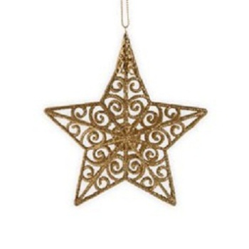 cheap and fine wooden christmas stars ceiling hanging decorations