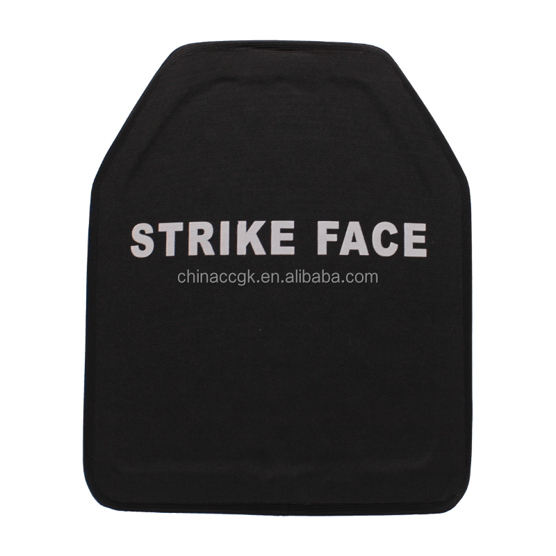 strike face ceramic ballistic plates NIJIII silicon carbide bulletproof plate