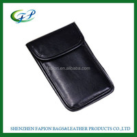 genuine leather cell phone signal blocker