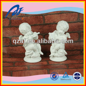 Polyresin unpainted resin figurines
