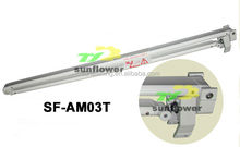 double cable 2.0m aluminum arms for retractable awning supplied by factory