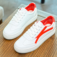 Wholesale Woman Shoes New Design Fashion Wholesale White Woman Casual White Canvas Shoes