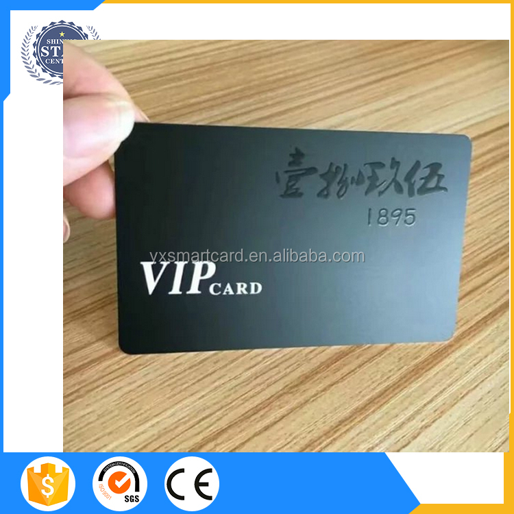 Uv Spot Rfid Blank Business Plastic Smart Card Printed For Access ...