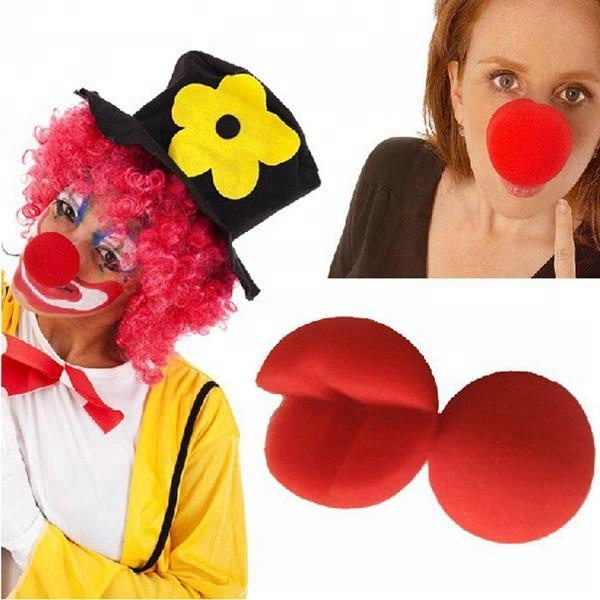 Wholesale Colorfast PU Foam Red Clown Noses