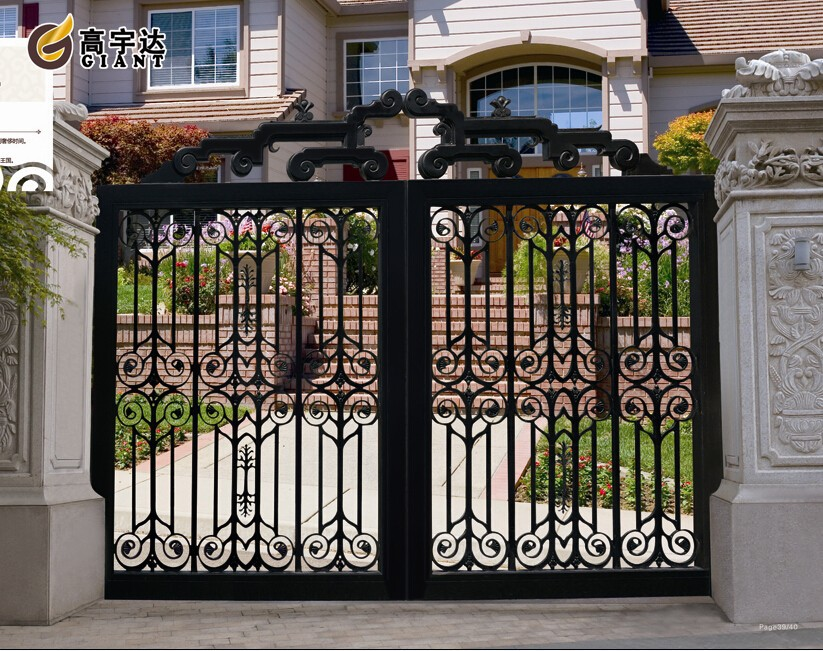 Gyd 15g1280 Modern Home Iron Gate Door Design Forge Gates Buy