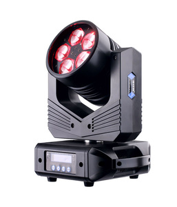 5pcs*40w led rgbw zoom bee eye led moving head