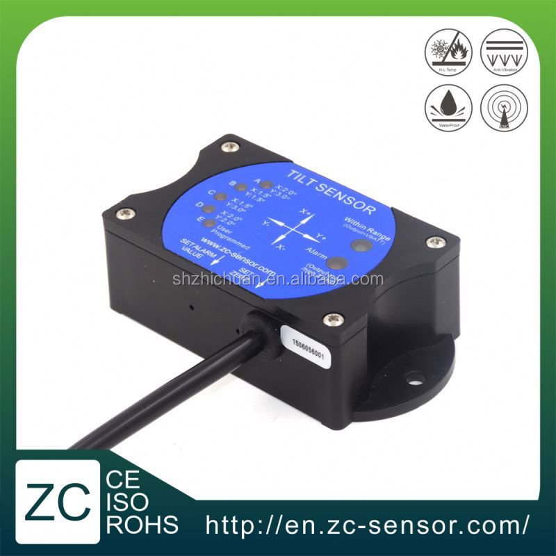 ZC Sensor CAN BUS Low Cost Angle Tilt Switch in Marine Lifting Platform