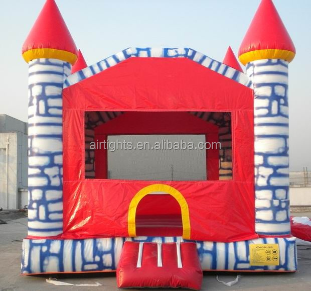 hot selling pvc inflatable bounce house, nice lead free inflatable bouncy castle made in China