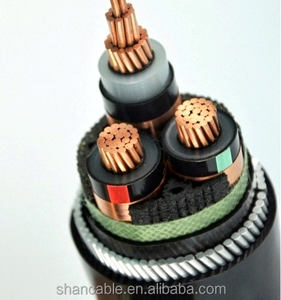 XLPE 11kV SWA Armoured Electrical Cable Three Cores MV Copper Armoured Cable YJV32