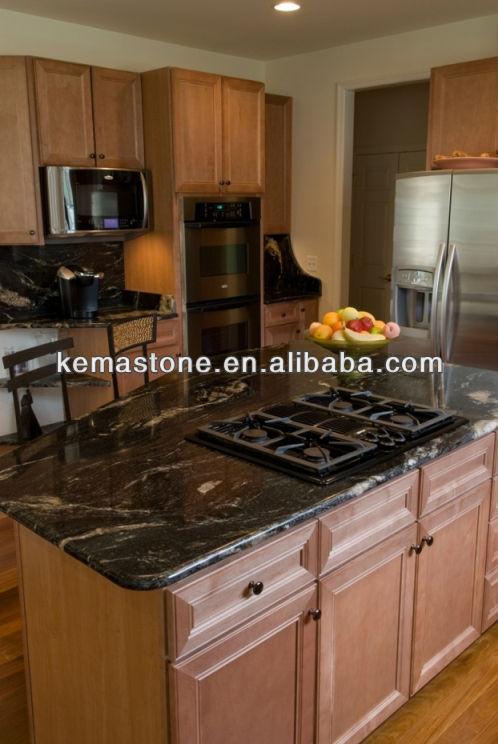 Cosmic Black Granite Kitchen Island Table Tops - Buy Granite Kitchen Island  Table Top,Granite Island Top,Black Granite Table Tops Product on ...