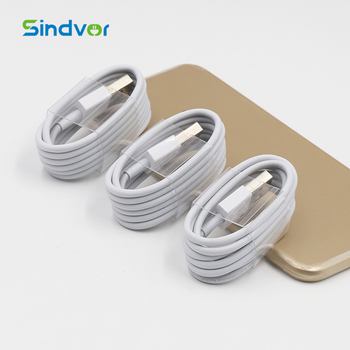 Wholesale custom mobile charging cord usb cable original for apple iphone 6 charger cable IOS11 for iphone data cable