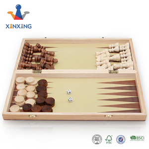 high quality personalized wooden chess backgammon game set chess sets