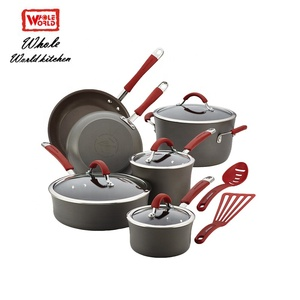 Nonstick induction german cookware set cooking pots