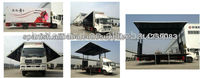China best Multifunctional Mobile stage truck 1(2012 mode)