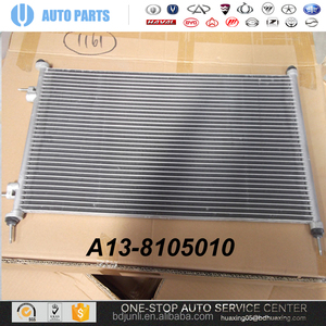 A13-8105010 Condenser Chery Fullwin 1.5 AUTO Parts CHERY SPARE Parts CAR Guangzhou supplier ORIGINAL AUTO PARTS