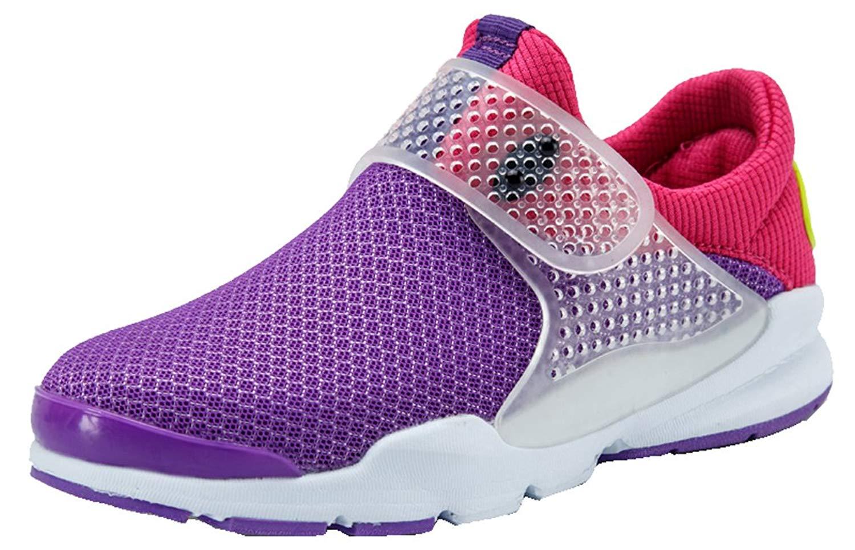 Pointss Boys Girls Mesh Sport Shoe Breathable Running Shoe Soft Sole Casual Walking Shoes Hiking Shoe