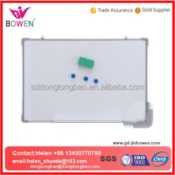 small size whiteboard pen flip board magnetic kids white board