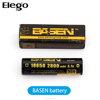 Elego High Quality BASEN battery 18650 High Drain 3.7v Li-ion battery Rechargeable
