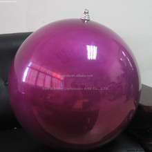 Indoor Decorating Large Plastic Christmas Ball