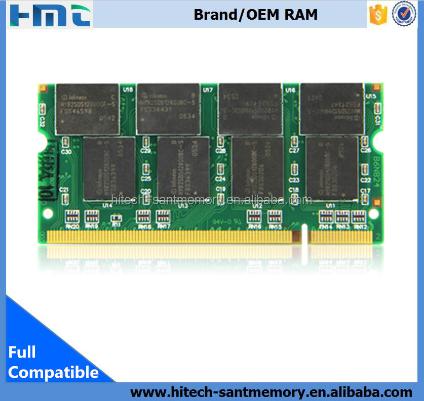 Cheapest ddr1 ram 1gb So-dimm 333MHz PC2-3200 for laptop