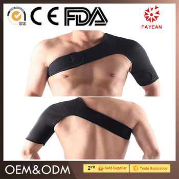 Cheap Price high elastic shoulder brace for teathers