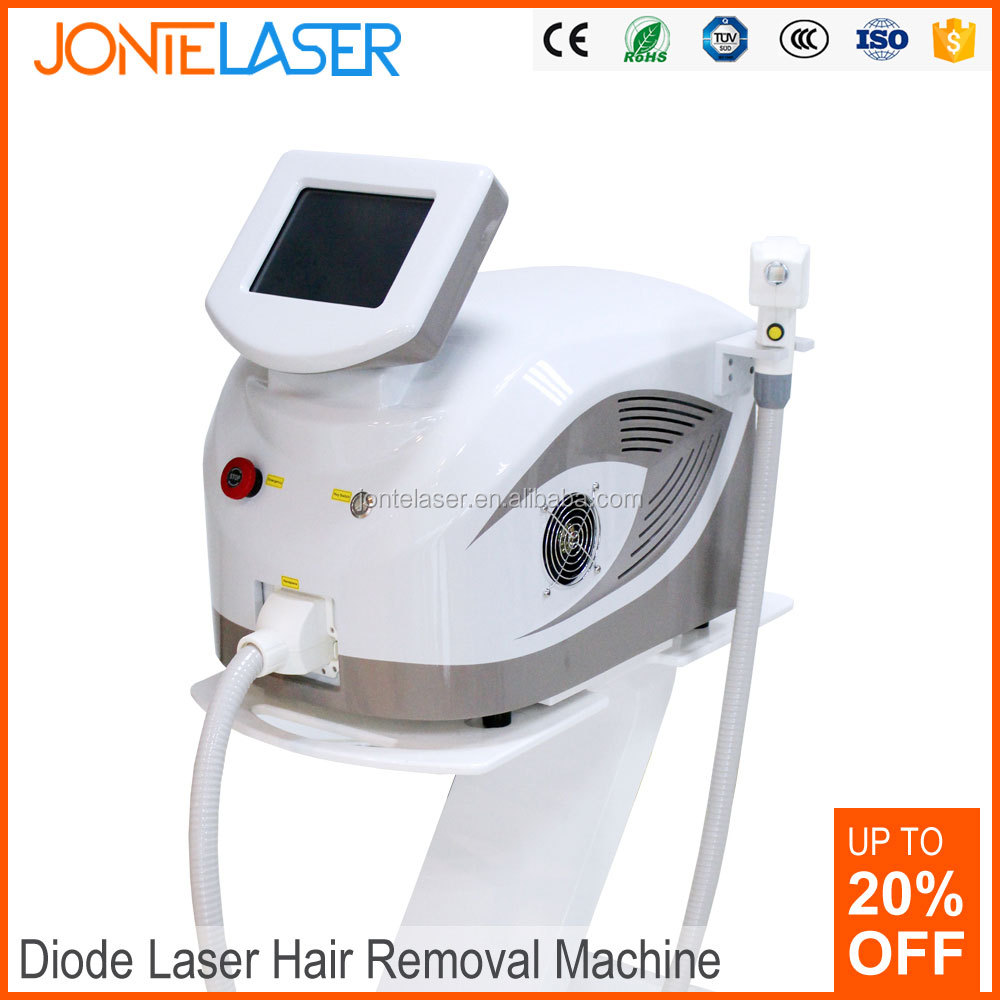 No pain Air cooling device 808nm diode laser hair removal treatment home 808nm diode hair removal fda approved