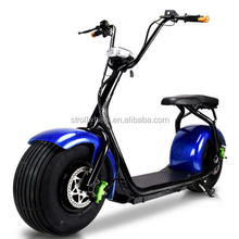 2017 New Factory Price 1000W Citycoco Woqu/Seev Electric Scooter 2 Wheel Big Wheel Citycoco Electric Scooter
