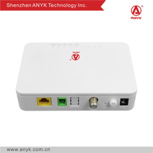 Gpon optical network terminal FTTH/FTTO 1GE catv GPON ONU home router cpe
