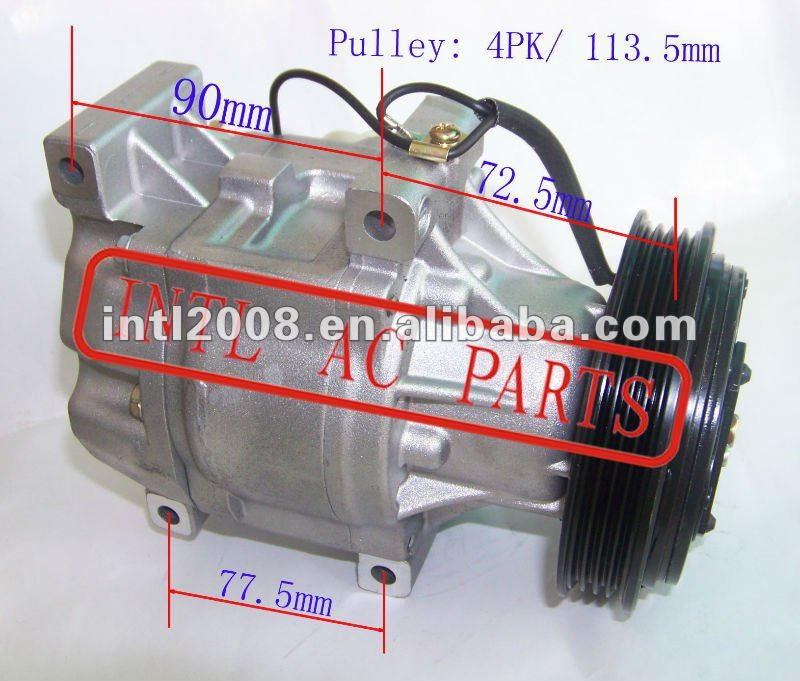 DENSO SCSA06C SCS06C SCS06 88320-52010 8832052400 88320-52040 8832052040 auto ac air conditioning compressor for ECHO