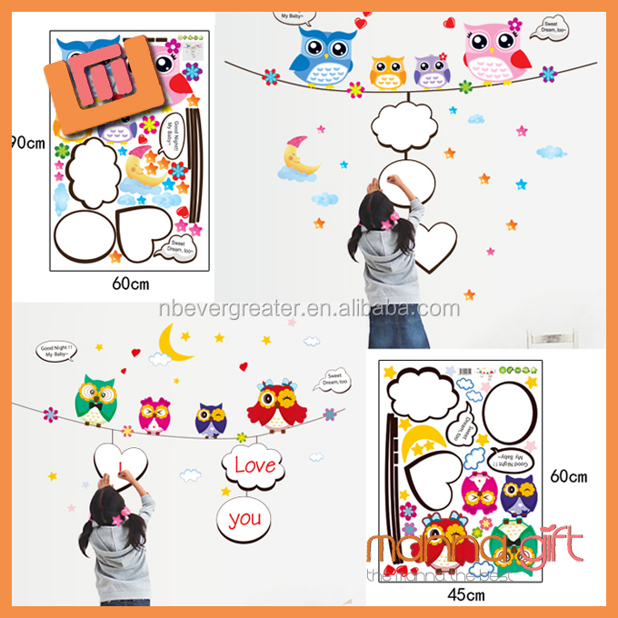 Top quality wall sticker 3d minion wall stickers