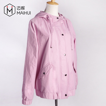 New Model Parkas Ladies Jackets Simple Women Trench Coat