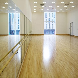 Frameless large wall safety big 4x8 4mm glass mirror sheet price for gym