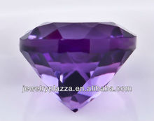 New Fashion dark amethyst trillion cut facet diamonds for jewelry accessaries ZS017