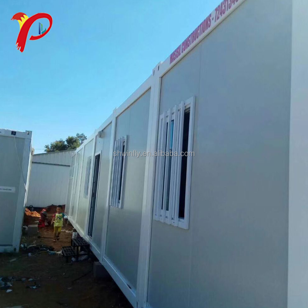 Fire Resistance China Shanghai Small Prefabricated Expandable Container House Folding Container House