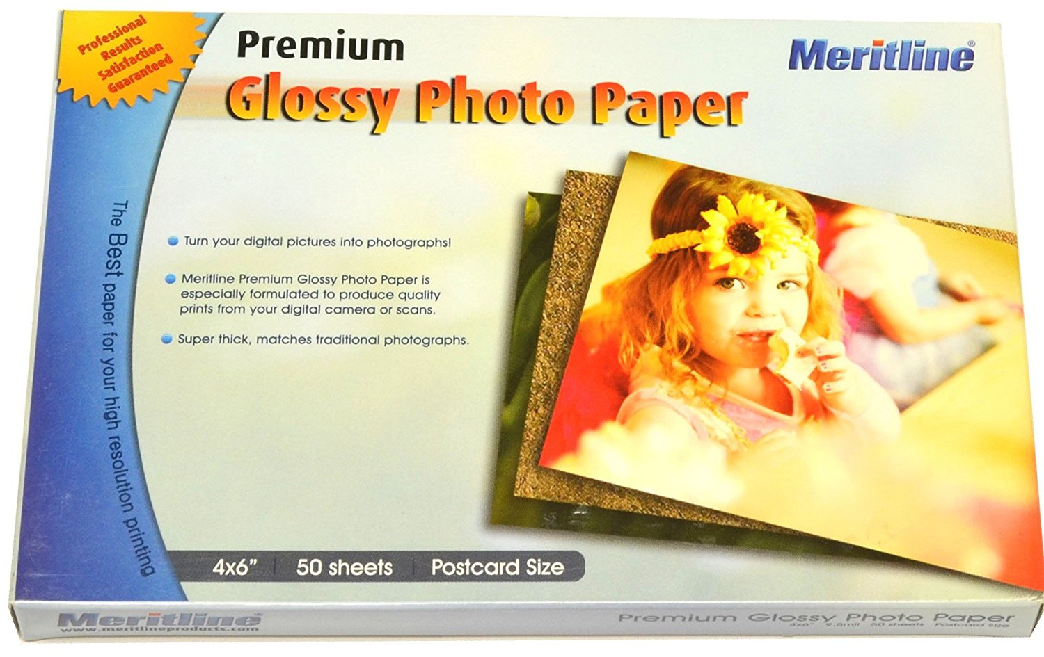 4x6 Glossy Photo Paper (Pack of 50 Sheets)