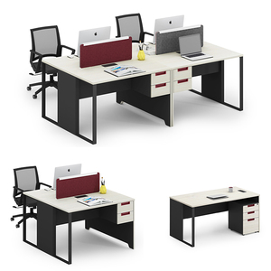 4 seat Hot sale good price open hall modular office cubicle workstation