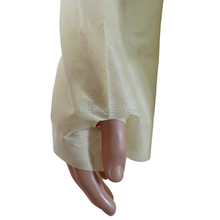 Hospital fluid resistant to light liquid-splash isolation gown with Thumb Loop/Disposable Barrier Gowns