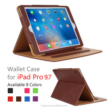 Alibaba Express Hot New Product Folding Stand Leather Tablet Cover Case for Apple iPad Pro, For iPad Pro Case 12.9 9.7 inch