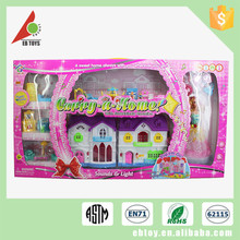 New hot sale diy plastic play home toys children toy house