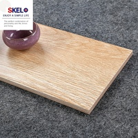 Guangdong 600 x 150 new design comfort room floor tiles wood look Design tiles floor wood effect malaysia price