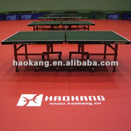 ITTF table tennis floor