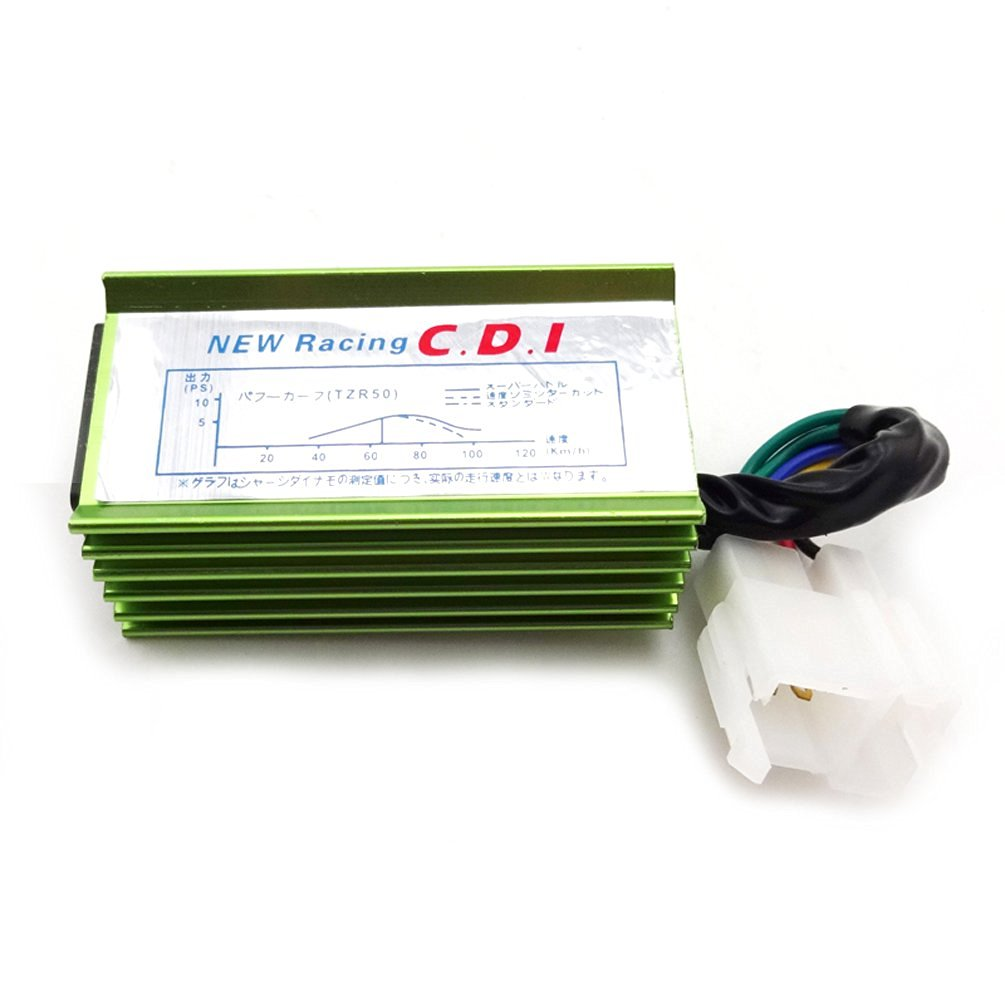 Buy Xljoy Green 6 Pin Ac Racing Ignition Cdi Box For Chinese 150cc 250cc Wiring 200cc Atv Quad