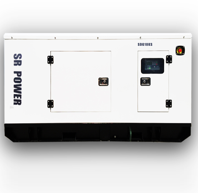 50HZ 10 KW/KVA Yangdong power head low price home use sound proof generating set Silent Diesel Generator