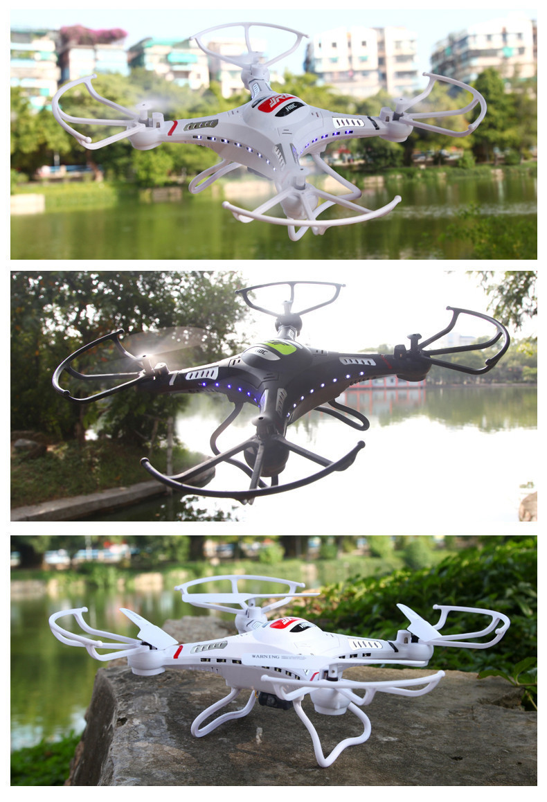 Newest RC Drone With 0.3 MP HD Camera JJRC H8C 2.4G 4CH 6-Axis RC Helicopter