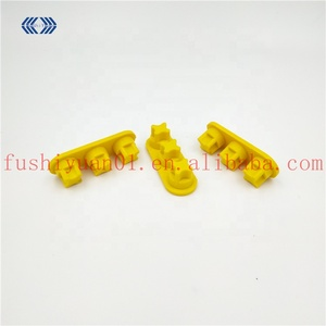 Compression molding customized colored Silicone rubber combinatorial stoppers/rubber plug groups