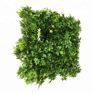 100*100cm Uv Protected Faux Greenery Fence Panels Greenery Walls Indoor Outdoor Decor Plant Customized Artificial Green Wall