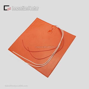 12v flexible silicone rubber heater pad